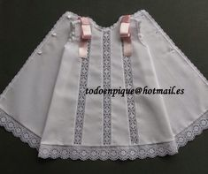 Risultati immagini per todo pique ropa de bebe Baby News, Baby Girl Dress Design, Kids Frocks, Baby Boutique, Baby Sewing, Sewing Lace, Little Girl Dresses, My Baby Girl, Clothing Patterns