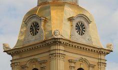 Le Clocher de la Cathédrale Saint Pierre et Saint Paul - Saint Petersbourg - Construite de 1712 à 1733 par l'architecte Domenico Trezzini.