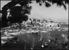 Το Μικρολίμανο (Τουρκολίμανο) στα τέλη της δεκαετίας του 1940.