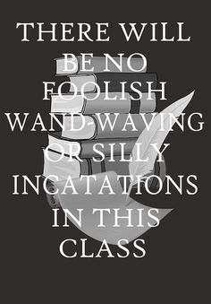 Snape quote.