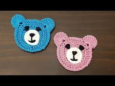 Crochet Applique Patterns Free, Crochet Motif, Baby Knitting Patterns, Crochet Designs, Crochet Teddy, Crochet Cross, Crochet Baby, Knitting Blogs, Baby Kind
