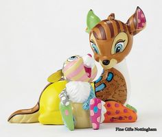 Disney by Britto Bambi & Thumper Figurine Disney Showcase Collection 4055230 #DisneyBritto #BambiThumperFigurine #FineGiftsNottingham