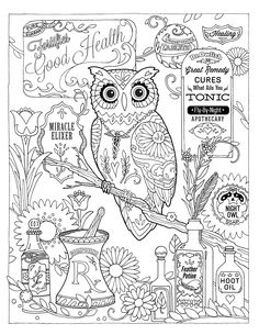 coloring pages pharmacist - photo#28