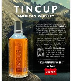 New from the USA – Tincup American Whiskey - steve.reid.esq@googlemail.com - Gmail