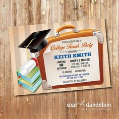 planning a successful trunk party + invitation template | trunk, Party invitations