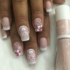Paws And Claws, Pretty Nail Designs, Fabulous Nails, Easy Nail Art, Nail Tutorials, Nail Trends, Pretty Nails, Pedicure, Hair And Nails