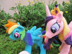 9c807d466621f Rainbow Dash from My Little Pony via Craftsy Crochet Children