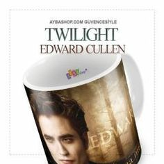 Twilight Seramik Kupa Baskı Twilight Edward, Edward Cullen, Mugs, Tableware, Dinnerware, Tumblers, Dishes, Mug, Cups