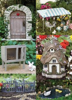 Fairy Gardens are incredibly fun to make these days! There are so many adorable, creative, and decorative pieces to choose from. Have you ever made a themed fairy garden before? Today we're sharing 42 Fairy Garden ideas that are sure to inspire various themes you and your children might have in mind!
