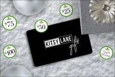 Wish granted! Gift cards are here. The no-fail way to spread style cheer is available in increments of $25, $50, $75, or $100 - or pick a five-pack of $10 cards to stuff all your stockings. (Might as well grab a few for last-minute occasions while you're at it.)