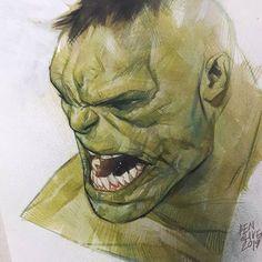 Marvel Comic Universe, Marvel Art, Hulk Marvel, Ms Marvel, Captain Marvel, Marvel Comics, Avengers, Ben Oliver, Character Art