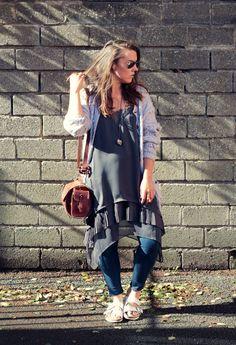 http://www.icomeundone.com  #fashion #style #fashionblog #knitwear #fallfashion #layering #birkenstocks #diyfashion #hippie #boho #hippiefashion