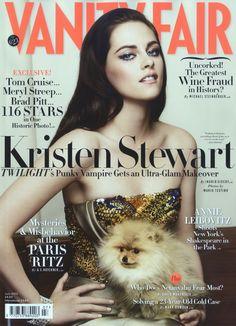 Kristen Stewart is 'Hollywood Revel Belle' by Mario Testino for Vanity Fair July 2012