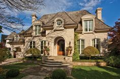 french home exteriors | ... standard of professionalism in designing and building your new home