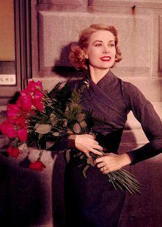 "chickennuggetprincessxo: ""vintagegal: ""Grace Kelly, 1956 "" """