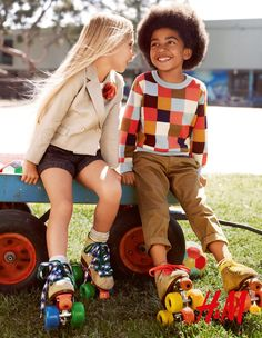 Trouble Management: Stylist Veronique Didry and Art director Stina Daag for the latest H kids campaign