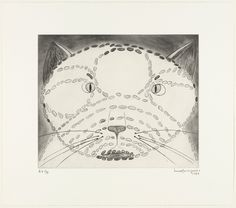 Louise Bourgeois. The Angry Cat, state III. 1999 (printed and published 2000)