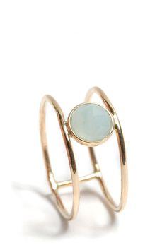 opal ring - ariel gordon 14k gold
