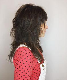 Shag haircut by Aveda Artist Marina Brock. Finished with Aveda Pure Abundance Potion.