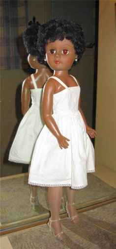 """1950's Vintage Fashion Doll Black African American AA 24"""" Deluxe Reading Bride   eBay"""