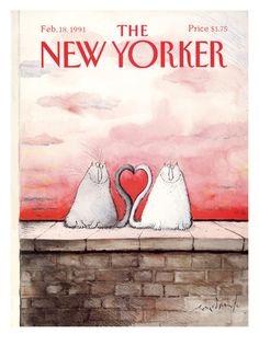 size: Premium Giclee Print: Poster of New Yorker Covers by Ronald Searle : New Yorker Covers, The New Yorker, Music Painting, Art Music, Ronald Searle, Kitchen Artwork, Music Covers, Cat Drawing, Cool Posters