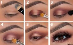 Návod na líčenie Eyeshadow Makeup, Hair Trends, Hair Beauty, Make Up, Lipstick, My Style, Hair Styles, Womens Fashion, Makeup Ideas