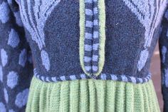 """The bridemaid's pleated jacket green/blue. Kits for my book FANØSTRIK - Colours of Fanø - You find the knittingpattern in my Knittingbook """"Fanøstrik - Colours of Fanø"""""""