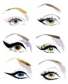 LOOK AT THIS CLEVER NEW THING | We're not much of thick cat's eye liner girls - it skews retro on us rather than fresh modernity which we prefer, but we often fill in the lash line with a fine brush and liquid liner | We love that super tight liner look too | This new TOO FACED 3 Way Lash Lining Tool lets you dot on a lash-filling illusion and create an ultra-thin line #beauty #eyes #lashes