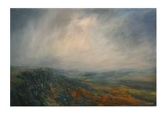 Kristan Baggaley.Break in the Clouds, Stanage Edge 120cm x 80cm Canvas
