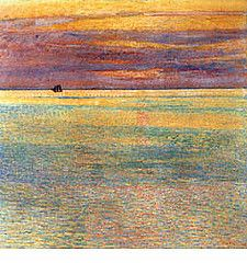 1911 Sunset at Sea - Frederick Childe Hassam