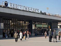 Train station of  Sants, Barcelona