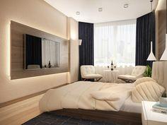 schlaf gut tipps teppich weiße sessel wandspiegel schwarze gardinen