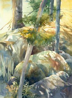 Great watercolor Jeanne Larson