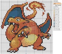 Pokemon - Charizard II by Makibird-Stitching.deviantart.com on @deviantART