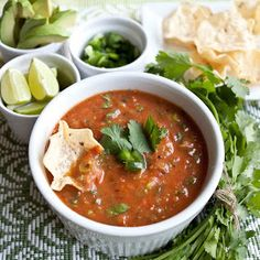 Quick Cooked Salsa