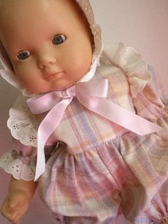 Bitty Baby Doll Clothes  Romper  & Bonnet by fashioned4you on Etsy