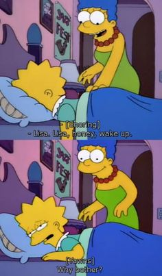 When she refused to face the world: 21 Times Lisa Simpson Was So Relatable It Hurt Simpson Wallpaper Iphone, New Wallpaper Iphone, Sad Wallpaper, Aesthetic Iphone Wallpaper, Aesthetic Wallpapers, Wallpaper Ideas, Nice Wallpapers, Phone Wallpapers, Wallpaper Backgrounds