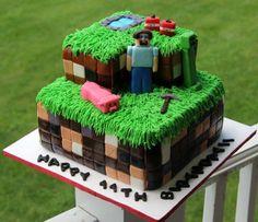 """MineCraft Cake....."
