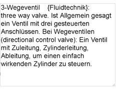 autocomplete suche von A – Z: Definitionen Mechatronik-Fachwoerter: endlagendaempfung in den zylindern, magnetfeldsensoren, 3-wegeventil, saugventil, durchflusswiderstand, linearantrieb, schaltnetzteil, schalttransistor, pneumatische antriebe