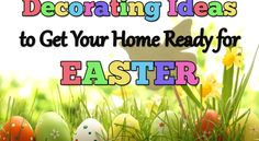 Easter Easter Decorations for the Home Decor Crafts, Home Crafts, Diy Crafts, Easter Crafts For Kids, Easter Decor, Easter Ideas, Holiday Crafts, Holiday Ideas, Egg Hunt