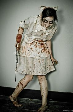 Creative, Unique & Scary Halloween Costume Ideas For Girls & Women 2013/ 2014 | Girlshue @svenskgirl312