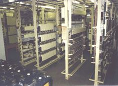 The Strowger Telecomms Page Telephone Exchange, Cable Internet, Electrical Wiring, Old School, Typewriters, Mobiles, Buildings, British, Industrial