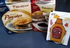 Medifast Spiced Pancakes and Sugar Free Syrup
