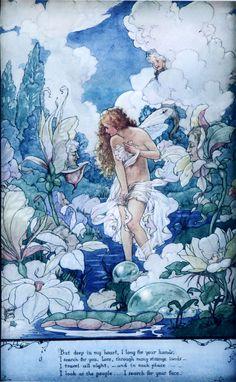 Water Fairy by Harold Gaze, circa 1918