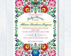 PRINTABLE Mexican Fiesta Baby Shower by LillysPartyBoutique