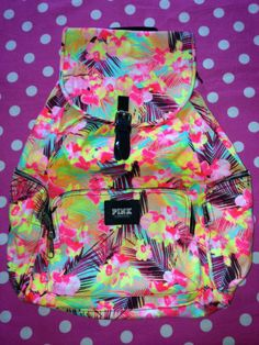 Fab.com | Backpack Neon | Closet | Pinterest | Neon and Backpacks