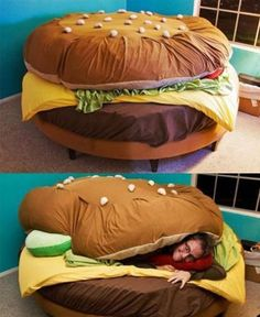 Cool and Comfortable Sandwich like Bed