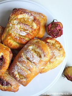 Rezepte mit Herz ♥: Apfeltaschen / Kirschtaschen