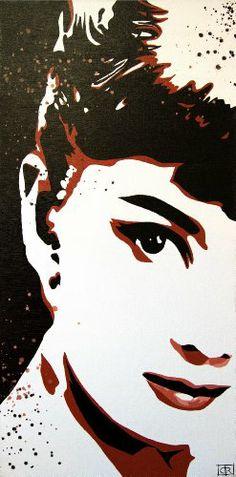 $750.00  Audrey II : Acrylic : Courtney Raney- That Look