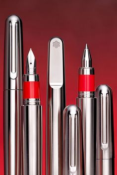 MontblancxRED Small Acts Of Kindness, Journaling, Pen Design, Hobbies For Men, Stationery Pens, Best Pens, Fountain Pen Ink, Writing Instruments, Crayon